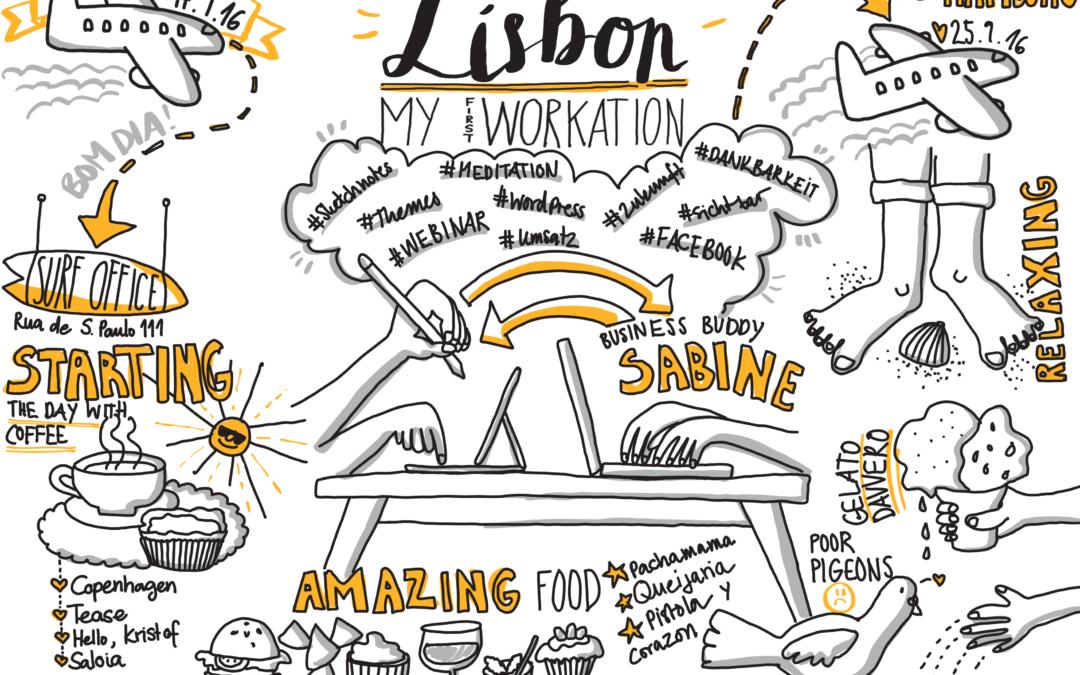 Verliebt in Lissabon – meine erste Workation