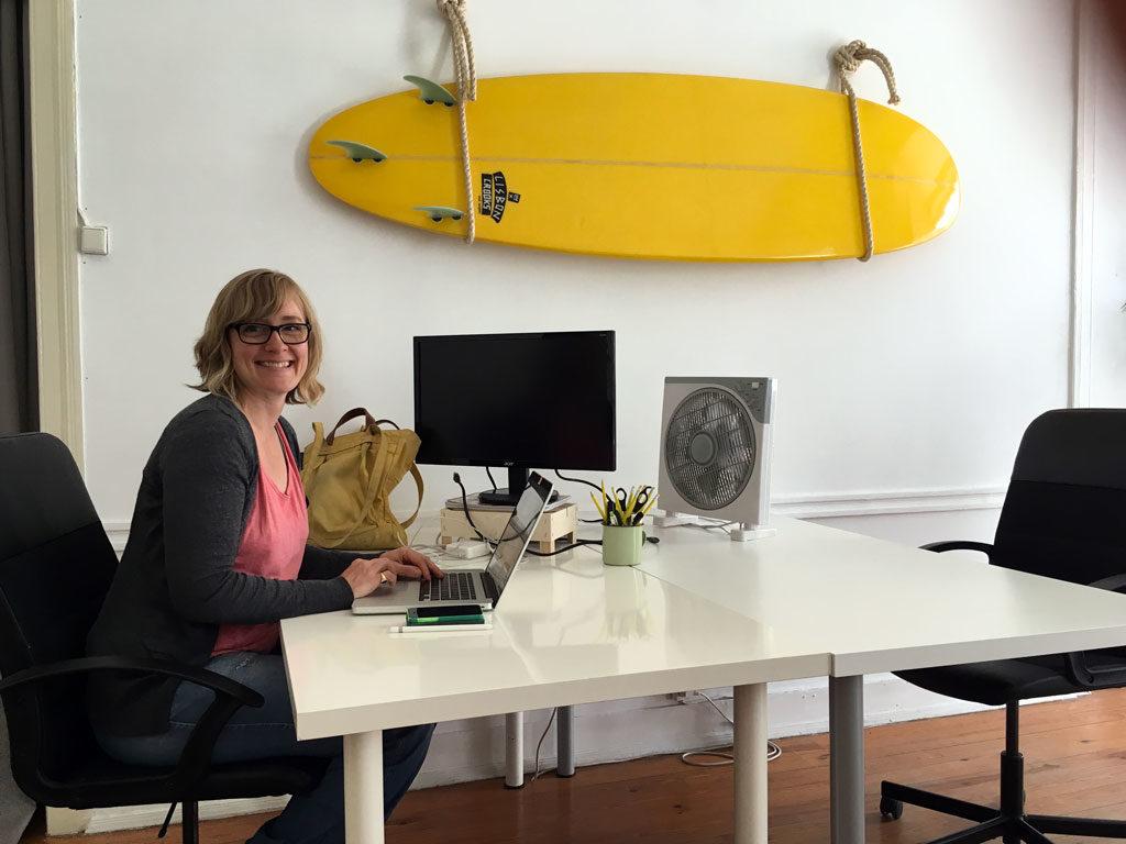 Workation Lissabon Surf Office - Das Pixelsyndikat