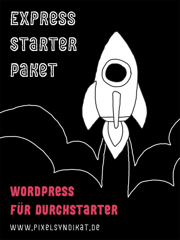 Express Starter Paket PExpress Starter Paket - Rakete - Pixelsyndikatinable - Pixelsyndikat