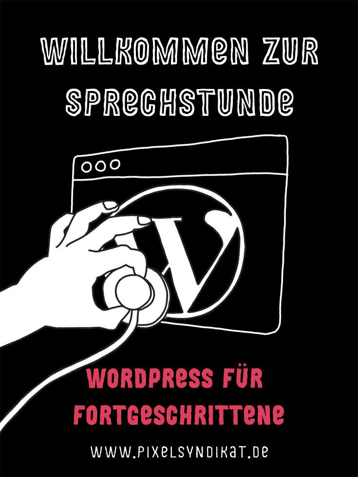 Willkommen zur WordPress Sprechstunde Pixelsyndikat