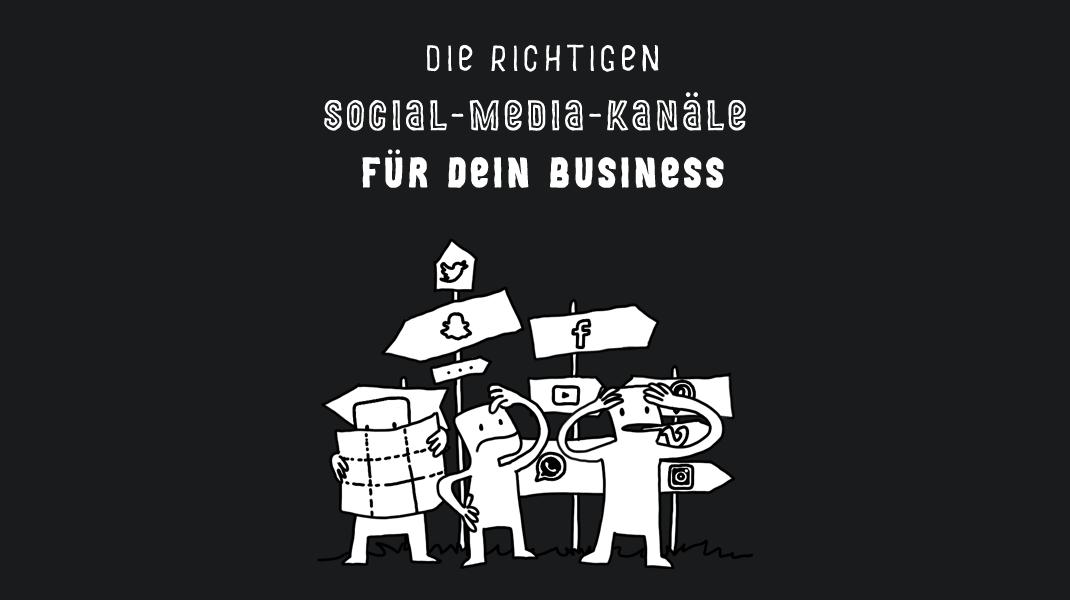 Die richtigen Social-Media-Kanäle für dein Business - Das Pixelsyndikat