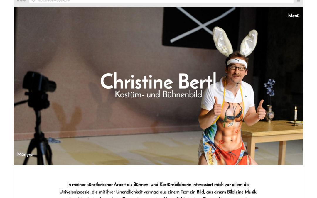 Christine Bertl | Kostüm- und Bühnenbild