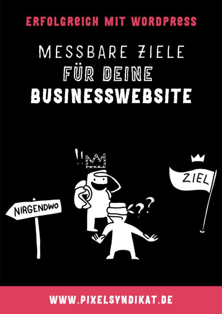 Messbare Ziele für deine Businesswebsite