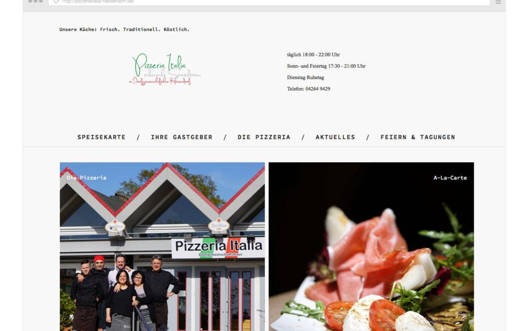 Petra Hopp, Pizzeria Italia Hassendorf