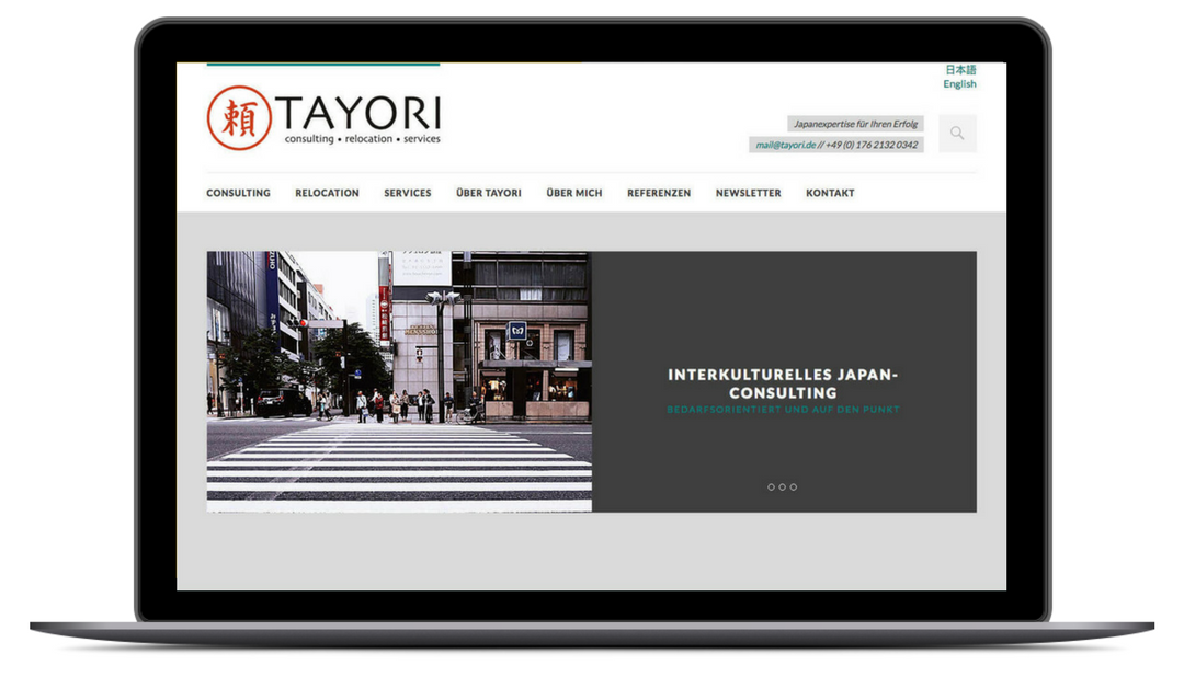 TAYORI – Japan Consulting