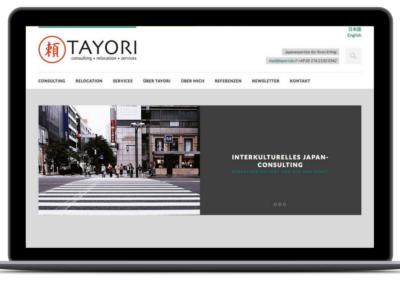 TAYORI – Japan Consulting