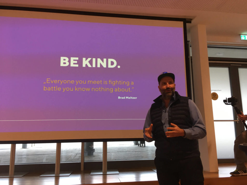 Reimer Kosack - Be Kind - #wcos